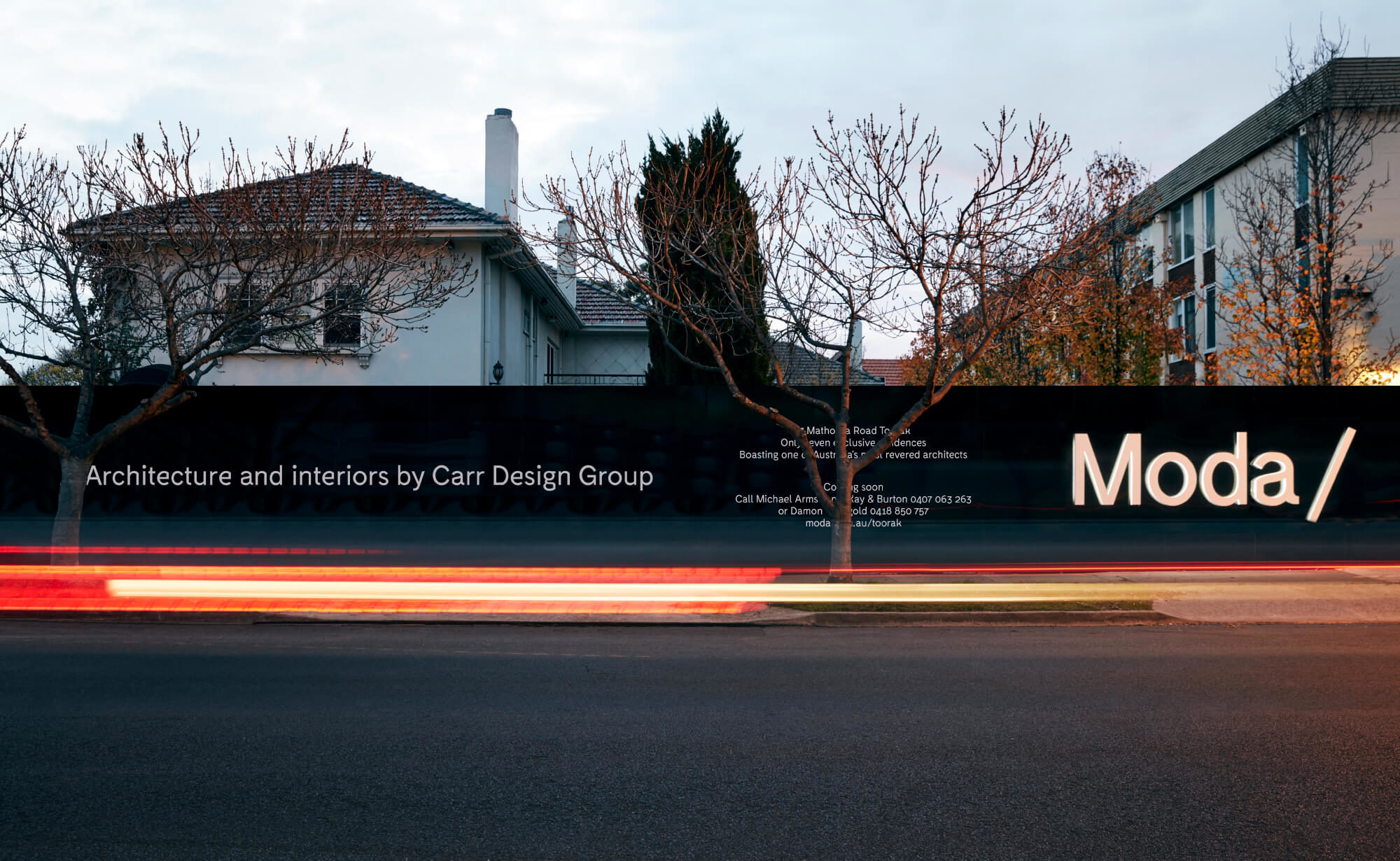 Moda_97_Mathoura_Road_Toorak_Artistry_Hoarding_Assembly_Branding-41